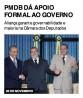 PMDB dá apoio formal ao governo