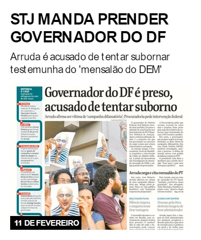 STJ manda prender governador do DF