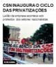 CSN inaugura o ciclo das privatizações