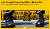 O vergonhoso massacre do Carandiru