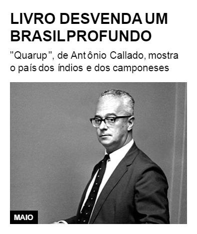 Livro desvenda um Brasil profundo