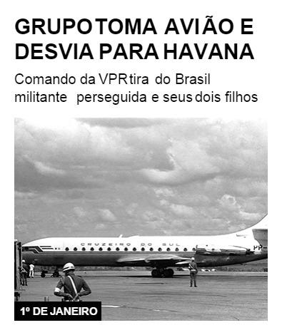 Grupo toma avião e desvia para Havana