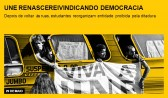 UNE renasce reivindicando democracia
