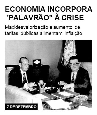 """Economia incorpora """"palavrão"""" à crise"""
