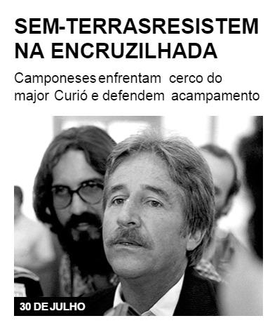 Sem-terras resistem na Encruzilhada