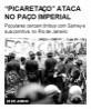 'Picaretaço' ataca no Paço Imperial