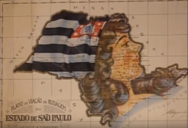 """Paulistas se levantam contra a ditadura do Governo Provisório de Vargas. Trecho do documentário""""1932: a Guerra Civil"""" (1993), de Eduardo Escorel"""