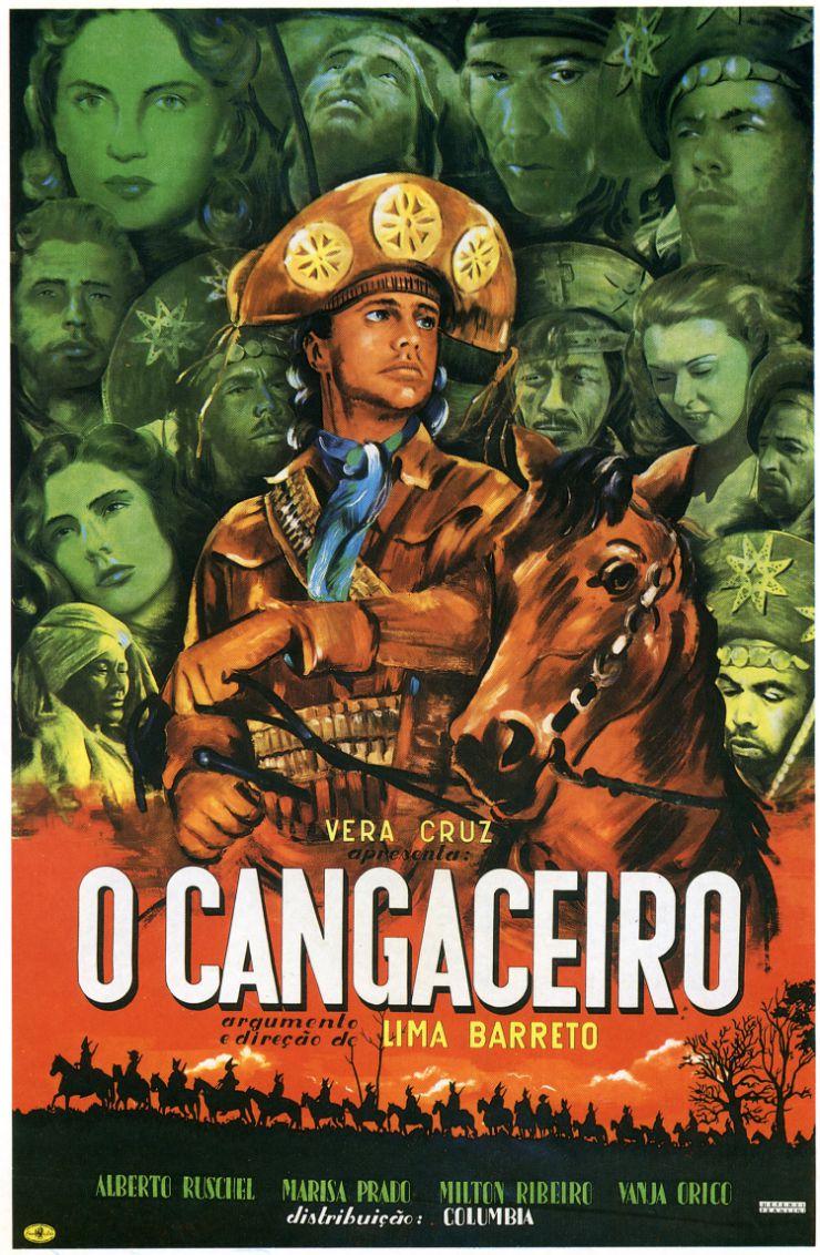 """Cartaz do filme """"O cangaceiro"""""""