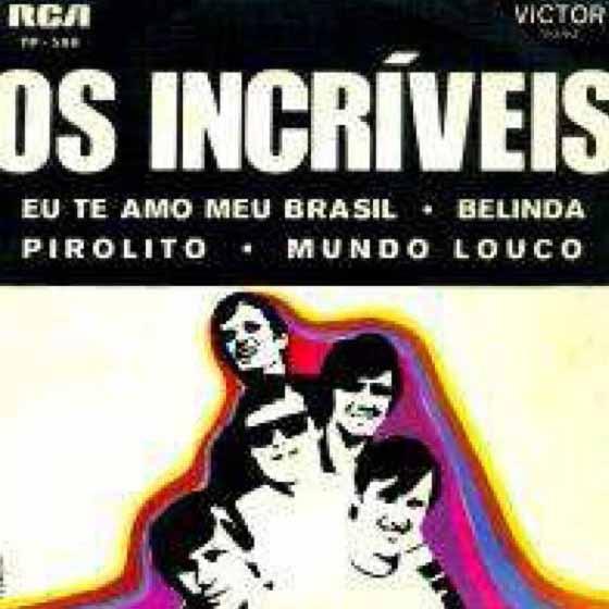 """""""Eu Te Amo, Meu Brasil"""" tornou-se conhecida pela interpretação da banda Os Incríveis e foi muito utilizada em ações de propaganda do governo Médici"""