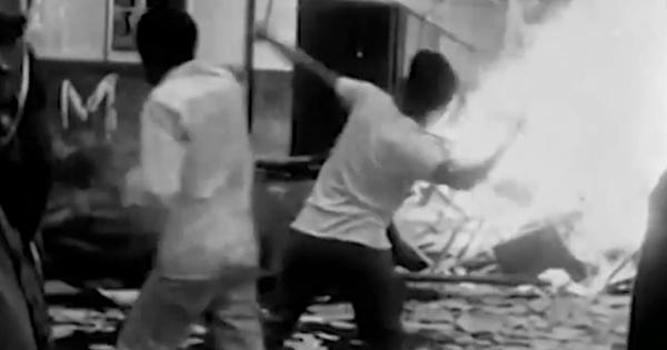 A sede da União Nacional dos Estudantes (UNE), onde se tentava articular a resistência ao golpe, foi incendiada com a conivência da polícia do governador da Guanabara, Carlos Lacerda, da UDN