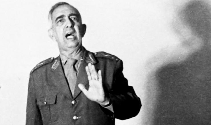 <strong> General Ednardo D&#39;Avila Mello,</strong> comandante do 2&deg; Ex&eacute;rcito, ao qual estava ligado o DOI-Codi de S&atilde;o Paulo