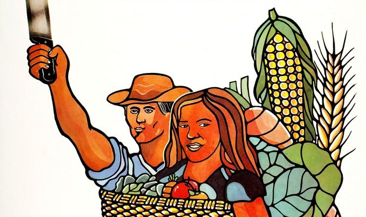 <strong> Cartaz do 1º Congresso do MST, </strong> realizado em Curitiba