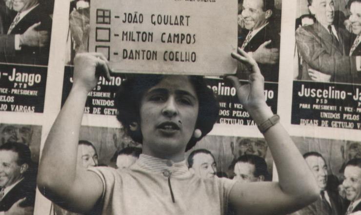<strong> Nas eleições presidenciais de 1955</strong> as mulheres finalmente votaram para presidente e passaram a declarar abertamente seu voto