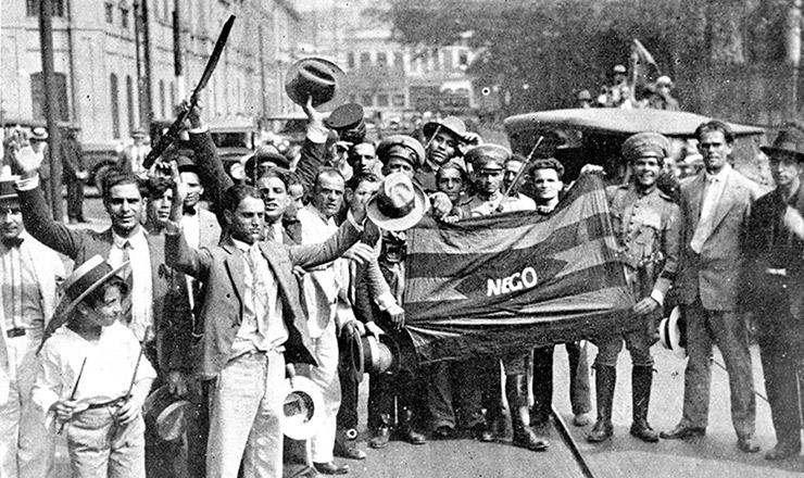 <strong> A partir do levante em Porto Alegre, manifestações se multiplicam pelo país e chegam&nbsp;</strong> &agrave; capital da República, tendo a bandeira da Para&iacute;ba como s&iacute;mbolo