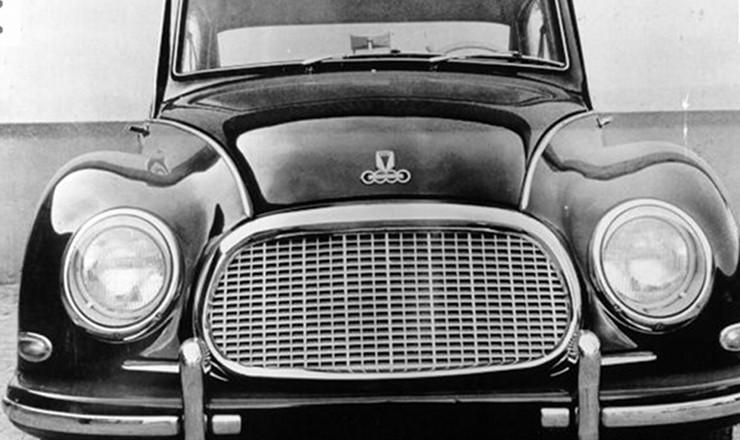 <strong> Veículo produzido pela Vemag:</strong> a aposta na indústria automobilística foi uma marca do governo JK