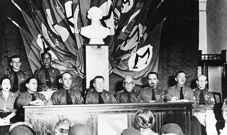 <strong> Primeiro Congresso da AIB, </strong> em Vit&oacute;ria, 1935  &nbsp;