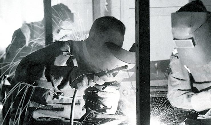 <strong> Senai: aluno do curso </strong> de&nbsp;qualifica&ccedil;&atilde;o de soldadores  &nbsp;  &nbsp;