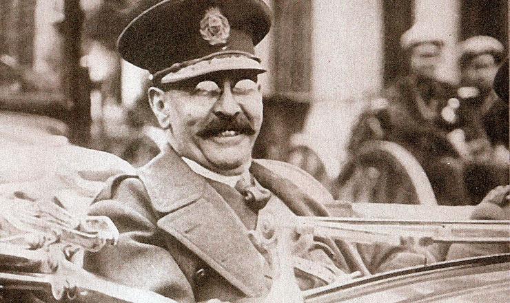 <strong> General José Félix Uriburu</strong> , que assumiu o governo da Argentina após golpe