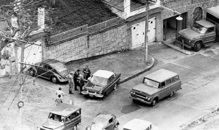 <strong> Casa do bairro carioca</strong> de Rio Comprido onde o embaixador Elbrick foi mantido ref&eacute;m&nbsp;