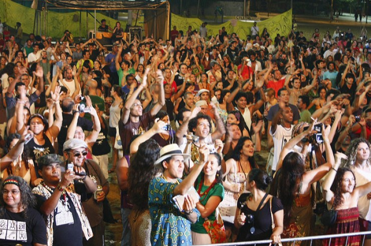 <strong> Encontro Nacional dos Pontos de Cultura,&nbsp;</strong> em Fortaleza, 2010