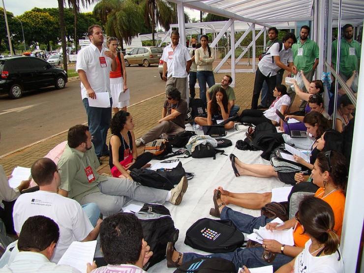 <strong> Confer&ecirc;ncia Nacional de Comunica&ccedil;&atilde;o, </strong> Bras&iacute;lia, 2009