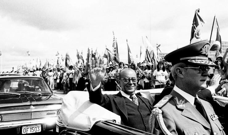 <strong> O novo presidente segue </strong> para o Pal&aacute;cio do Planalto depois da posse no Congresso Nacional