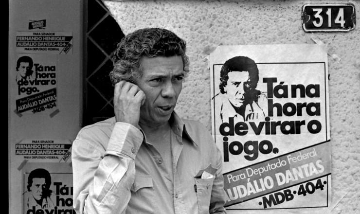 <strong> Aud&aacute;lio Dantas,</strong> candidato do Sindicato dos Jornalistas de São Paulo, eleito deputado federal