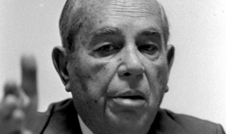 <strong> Amaral Peixoto,</strong> senador biônico pelo MDB do Rio de Janeiro