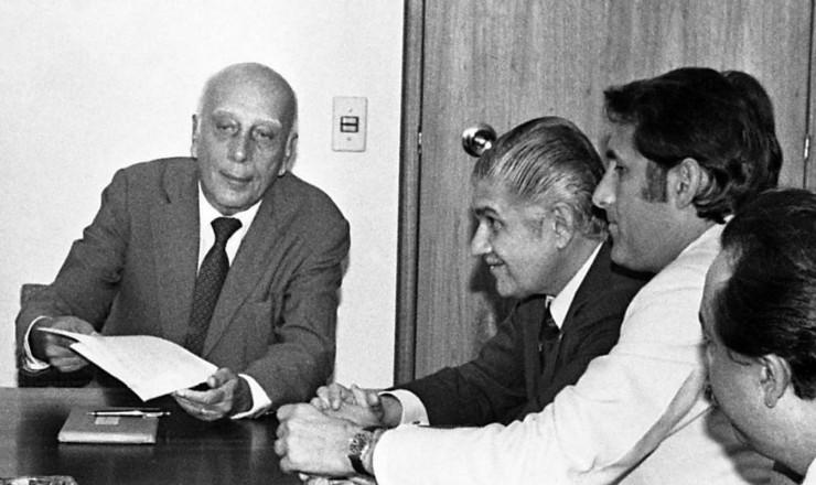 <strong> Ulysses Guimar&atilde;es e lideran&ccedil;as</strong> se re&uacute;nem para discutir as novas regras eleitorais