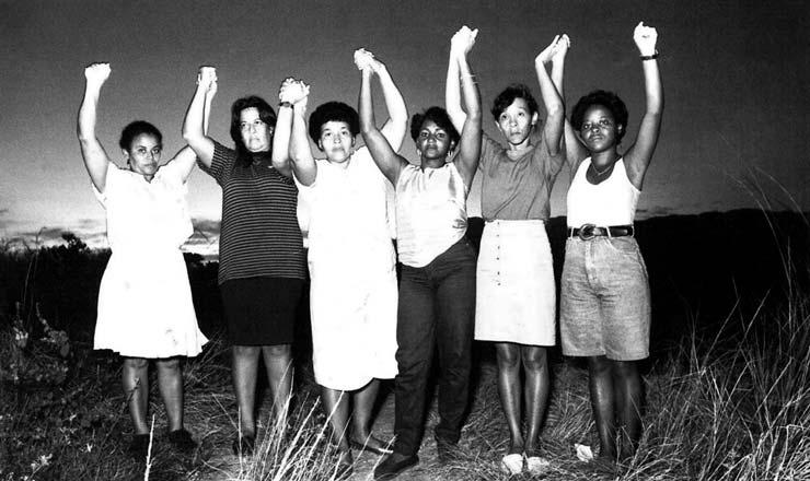 <strong> Mulheres do grupo As Mães de Acari,</strong> que lutaram para reencontrar seus filhos desaparecidos e por justiça; o crime prescreveu em 2010