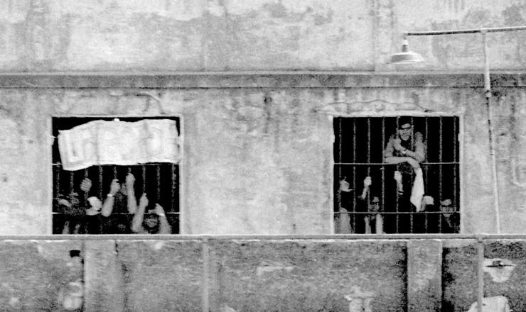 <strong> Estudantes detidos</strong> e encarcerados no Presídio Tiradentes