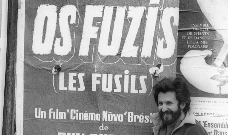 """<strong> Ruy Guerra,</strong> diretor de """"Os Fuzis"""""""