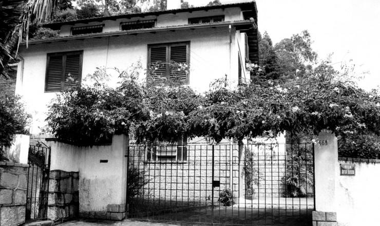 <strong> A Casa da Morte, </strong> centro clandestino de repressão montado pelo CIE em Petropólis (RJ)