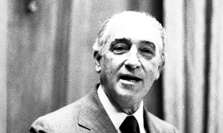 <strong> Franco Montoro,&nbsp;</strong> governador de S&atilde;o Paulo