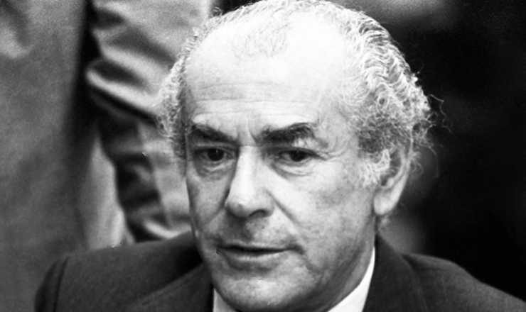 <strong> Leonel Brizola, </strong> governador do Rio de Janeiro
