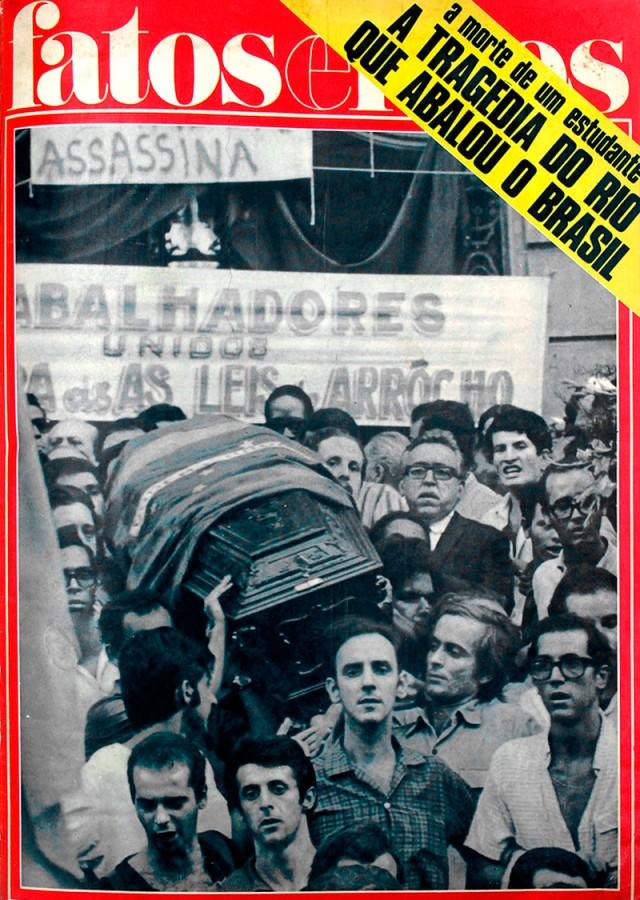 Cortejo fúnebre de Edson Luís