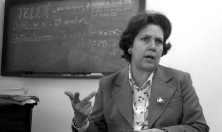 <strong> Therezinha Zerbini,</strong> fundadora do Movimento Feminino pela Anistia (MFPA)