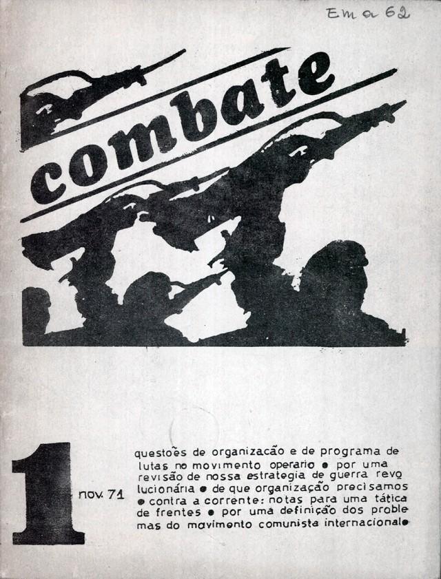 """""""Combate"""", publicação do Partido Operário Comunista (Poco)"""