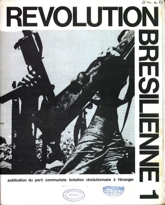"""""""Revolution Bresilienne"""", editado na França pelo Partido Comunista Brasileiro Revolucionário (PCBR)"""
