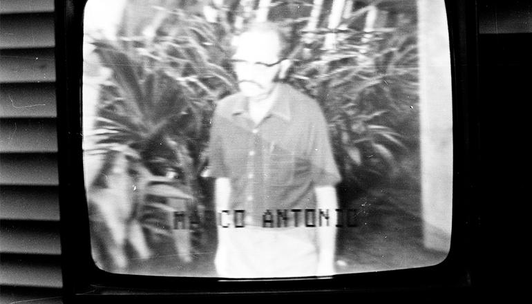 <strong> Marco Ant&ocirc;nio Coelho,</strong> &nbsp;em grava&ccedil;&atilde;o feita no quartel do 2&deg; Ex&eacute;rcito (SP), em fevereiro de 1975