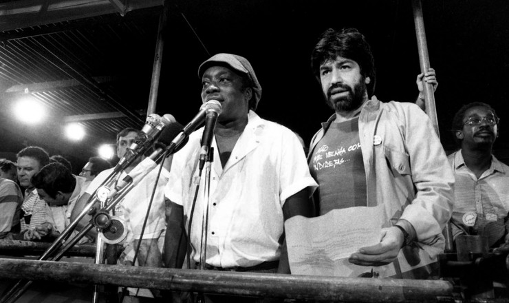<strong> Milton Nascimento e Wagner Tiso </strong> participam do com&iacute;cio no Rio de Janeiro
