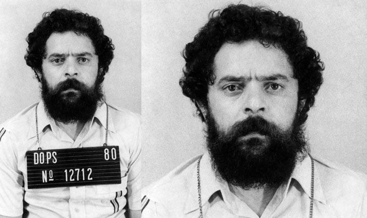 <strong> Lula preso&nbsp;e fichado</strong> pelo Dops de S&atilde;o Paulo