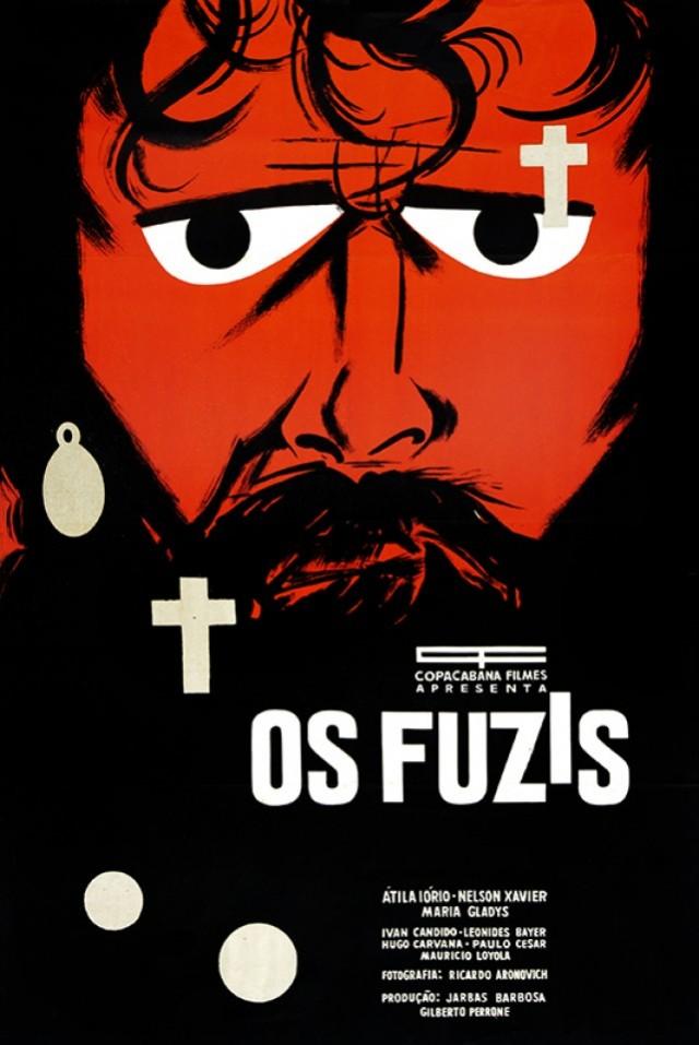 Cartaz de Ziraldo para o filme de Ruy Guerra
