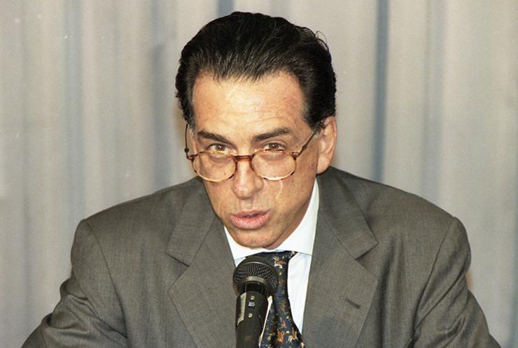 <strong> Salvatore Alberto Cacciola, </strong> banqueiro ítalo-brasileiro, dono do falido Banco Marka e que foi condenado por crimes contra o sistema financeiro
